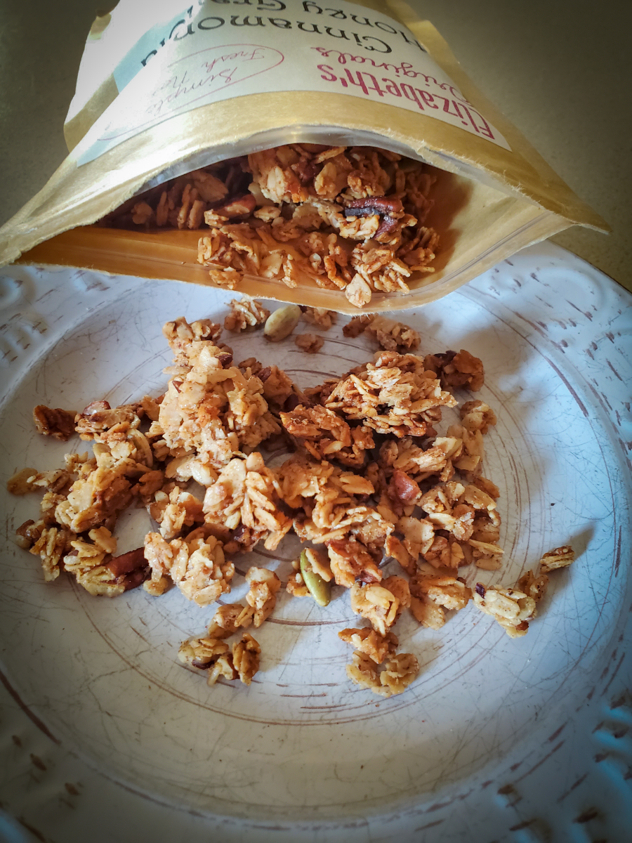 cinnamon-honey-granola