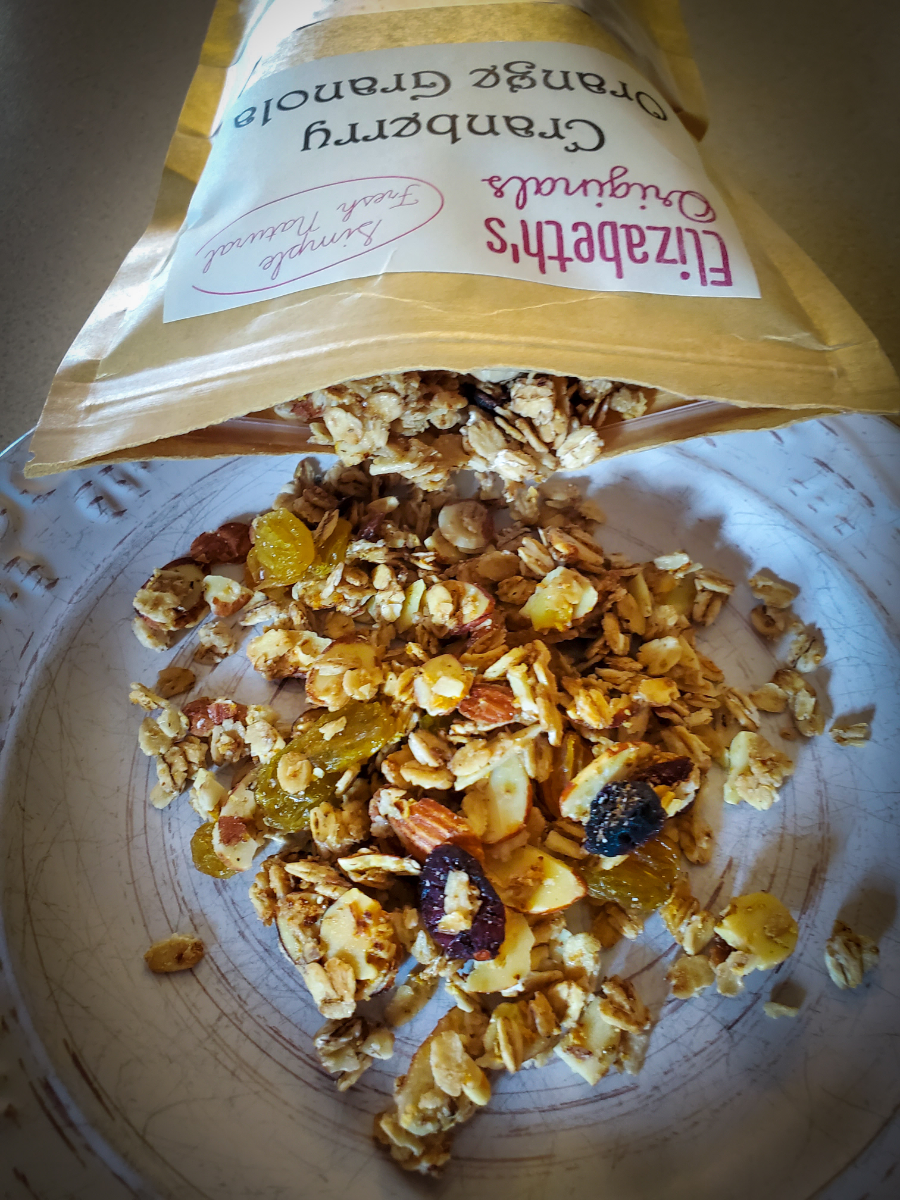 cranberry-orange-granola
