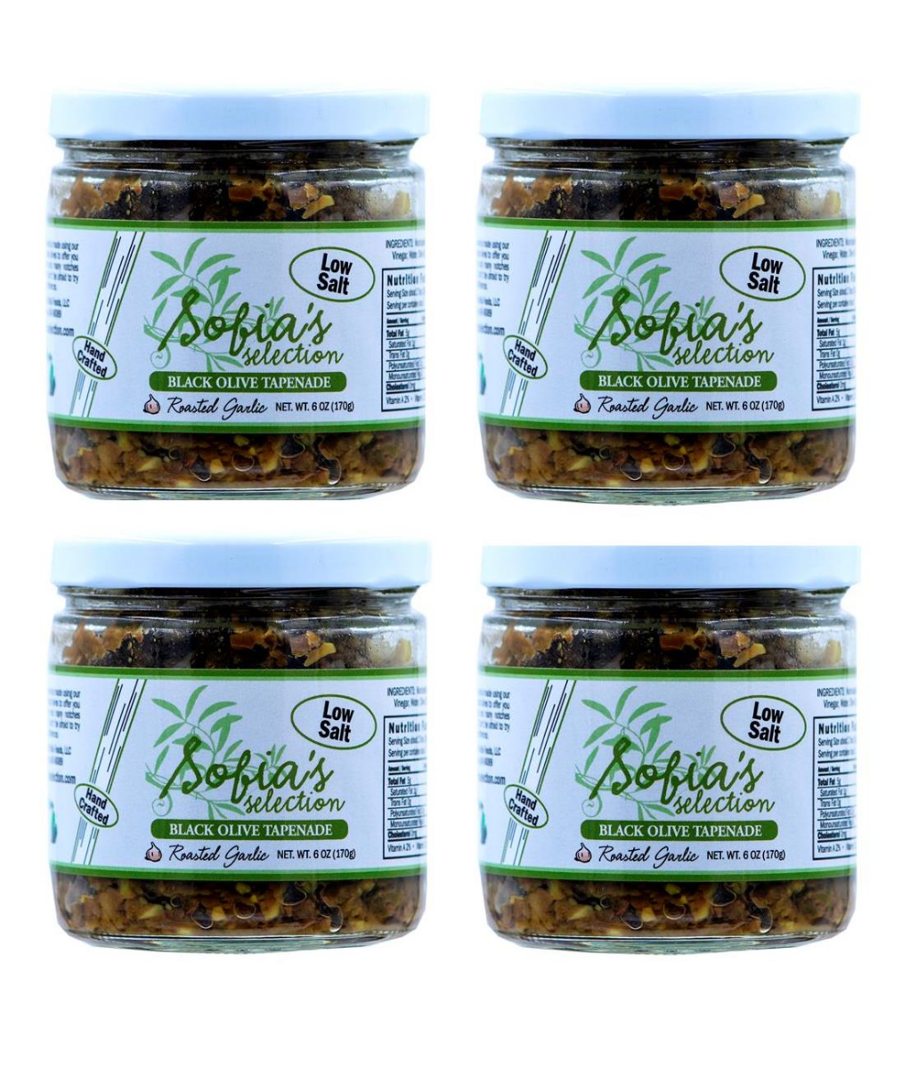 sofias-selection-roasted-garlic-olive-tapenade-4-pack